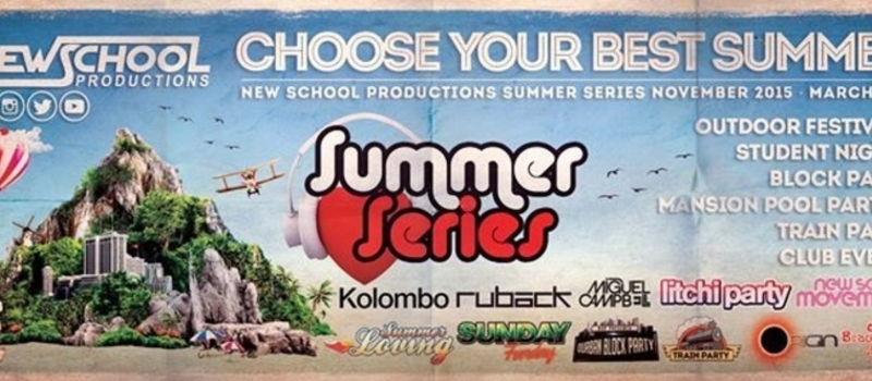 New School Summer Series 2015 / '16