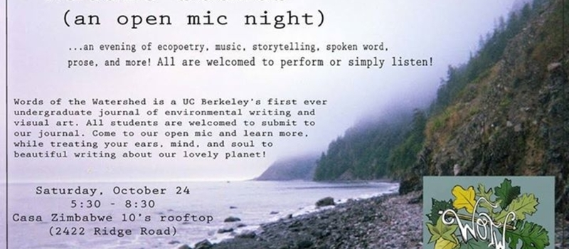 Nature Sounds Open Mic