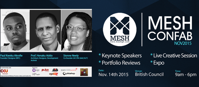 MESH Confab Nov, 2015 (A gathering of creatives)
