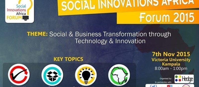 Social Innovations Africa Forum
