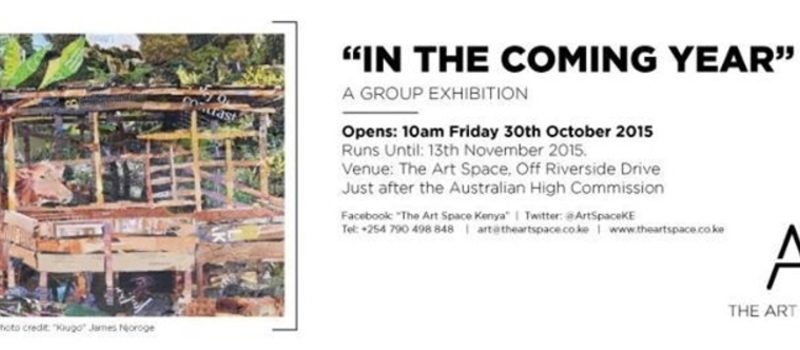 "The Opening of The Art Space and the show ""In the Coming Year"""