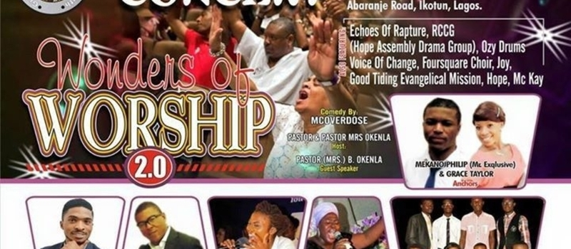 LIVE IN CONCERT: WONDERS OF WORSHIP 2.0