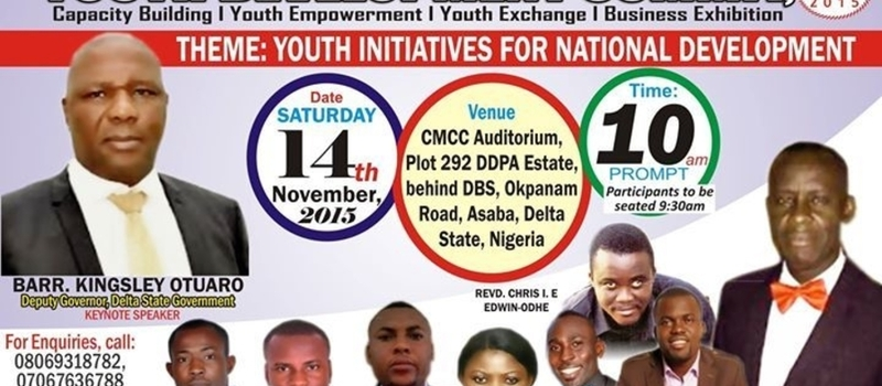 YOUTH DEVELOPMENT SUMMIT, Asaba 2015
