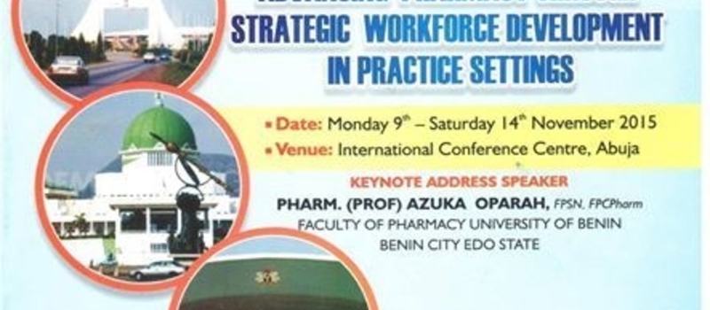 Annual conference of the Pharmaceutical society of Nigeria