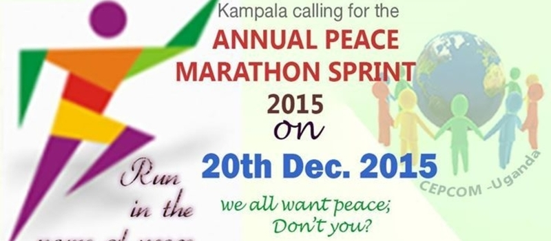 the ANNUAL PEACE MARATHON SPRINT 2015