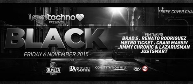 LoveTechno❤  Presents : BLACK ( FREE PARTY )