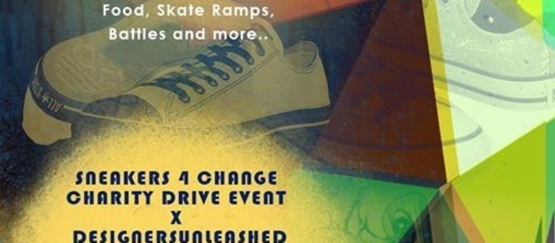 Sneakers 4 Change Charity Drive X DesignersUnleashed Fashion Show