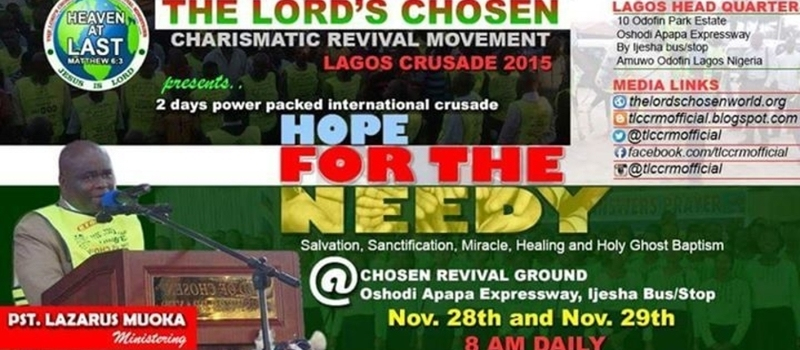 HOPE FOR THE NEEDY 2015