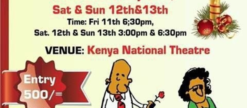 REKE NEMWO at the KENYA NATIONAL THEATRE