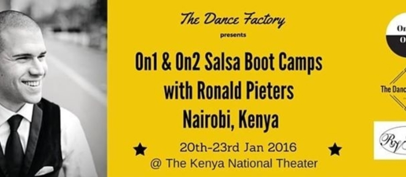On1 & On2 Salsa Boot Camps with Ronald Pieters, Nairobi, Kenya