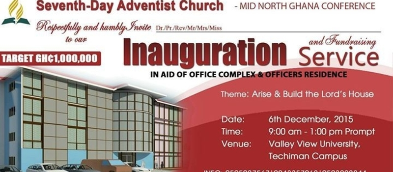 Inauguration of Mid-North Ghana Conference