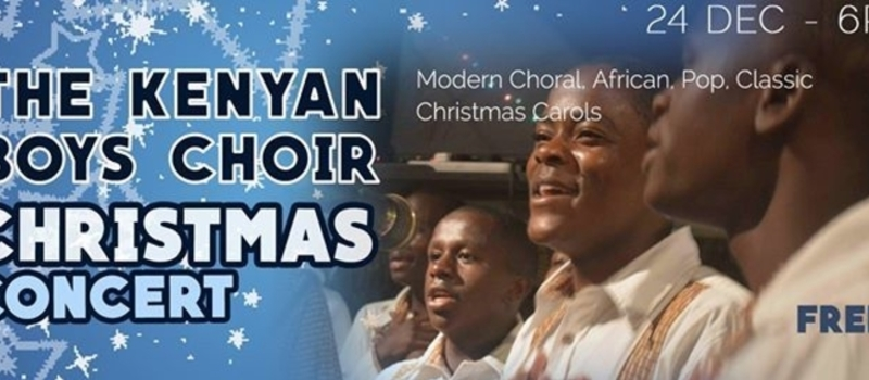 KENYA BOYS CHOIR CHRISTMAS CONCERT