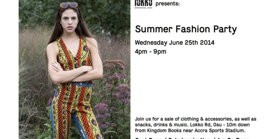 Accra Summer Fashion Party