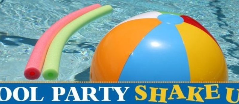 New Year Shake Up- Pool Party
