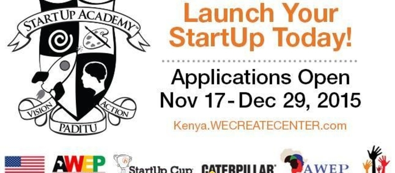 STARTUP ACADEMY APPLICATION
