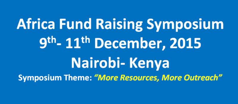 Africa Fund Raising Symposium
