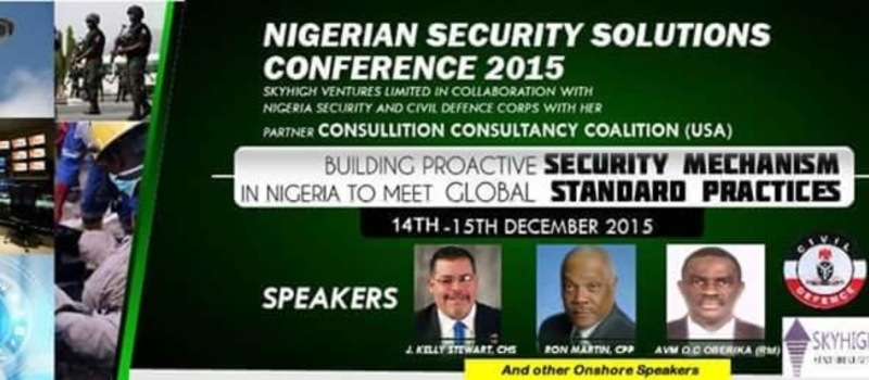 Nigerian Security Solutions Conference
