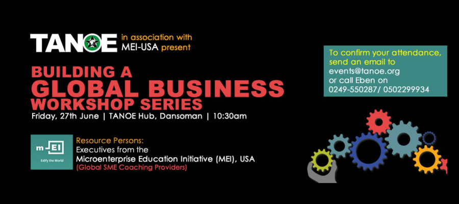 Building A Global Business Workshop Series
