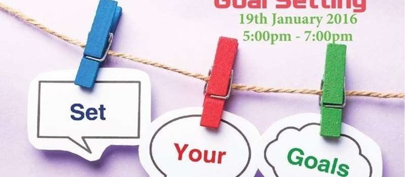 SCHMOOZE, ART OF GOAL SETTING 19TH JAN 2016