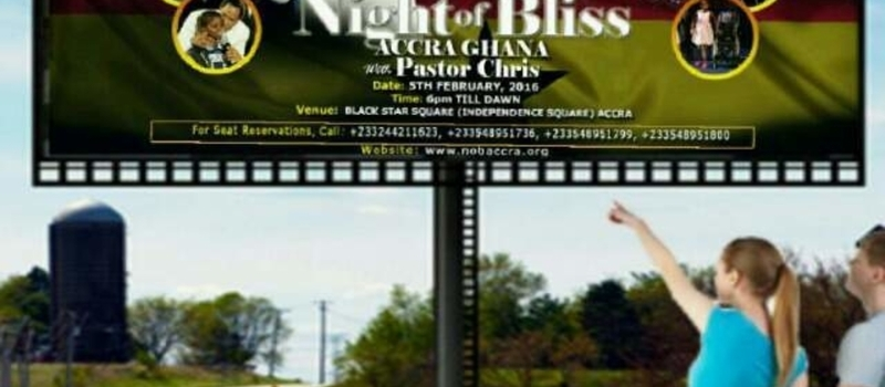 NIGHT OF BLISS GHANA WITH PST. CHRIS OYAKHILOME
