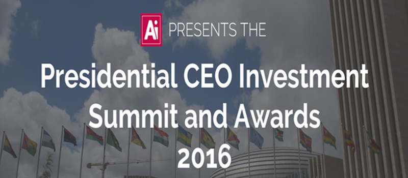 African Presidential - CEO Investment Summit 2016