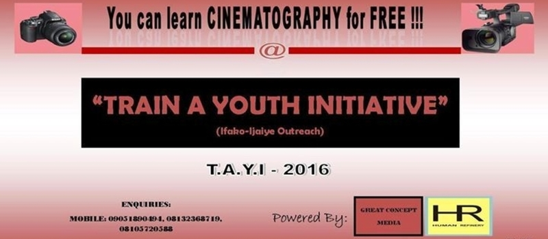 TRAIN A YOUTH INITIATIVE (T.A.Y.I)