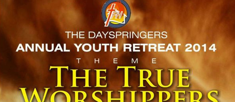 Annual Youth Retreat 2014
