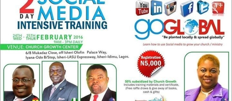 Lagos Nigeria-Dr akin John Hosts 2 Days Social Media Training