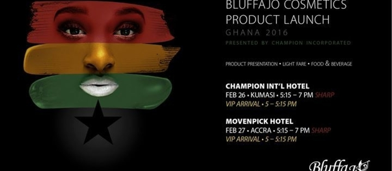Bluffajo Product Launch in Ghana 2016