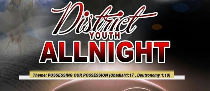 DISTRICT YOUTH ALL NIGHT (INCHABAN )