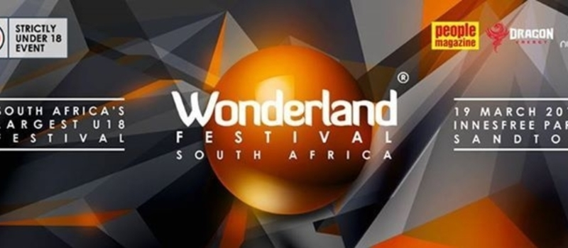 Wonderland Festival South Africa - 19th March 2016