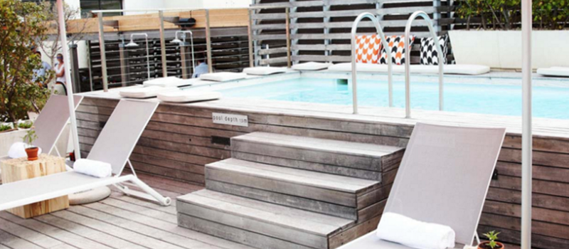 Secret Rooftop Pool Party in the heart of Cape Town: Friday VACtivity