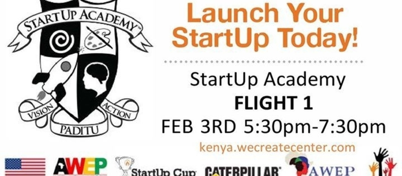 StartUp Academy Flight 1 takes OFF!