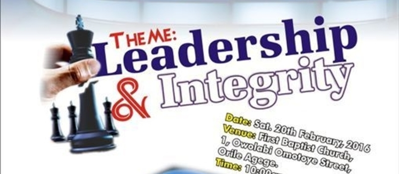 LAGOS WEST BAPTIST YOUTH CONFERENCE LEADERSHIP SUMMIT