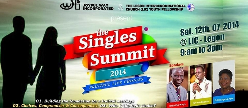 National Singles Summit 2014