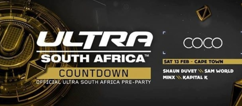 Ultra South Africa VVIP Pre-Party