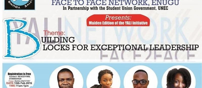 YALI Network Face2Face Maiden Event on Exceptional Leadership