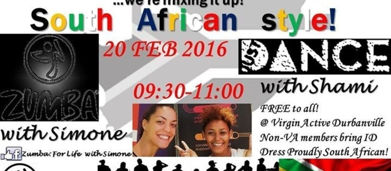 South African Style Zumba AND JustDance Party