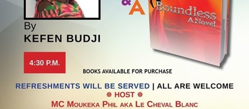 Book Launch: Boundless