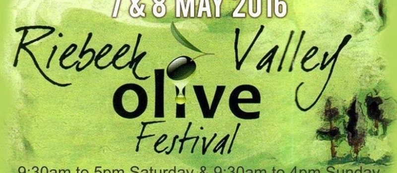 Riebeek Valley Olive Festival 2016