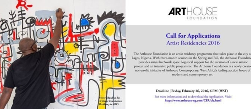 Call for Applications: Arthouse Foundation Artist Residencies 2016
