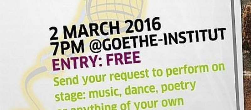 Open Stage @Goethe