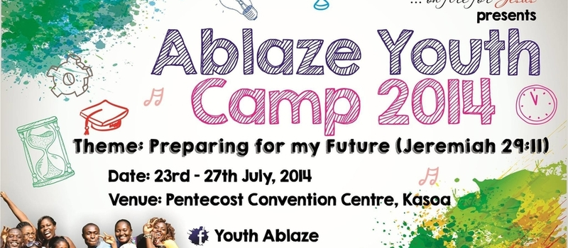 ABLAZE YOUTH CAMP 2014