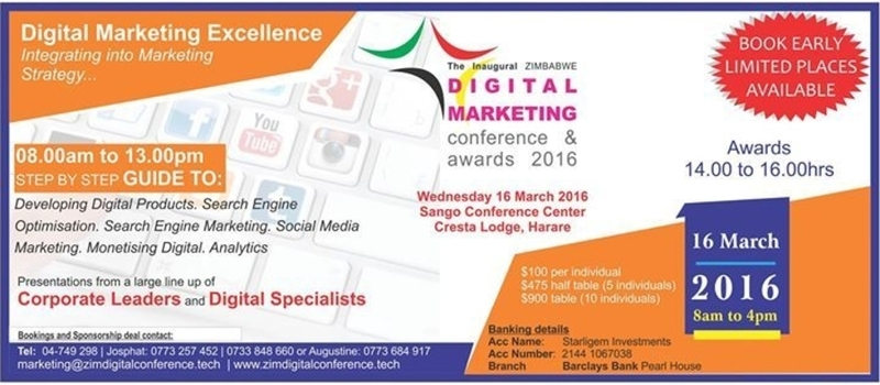 ZImbabwe Digital Conference and Awards 2016
