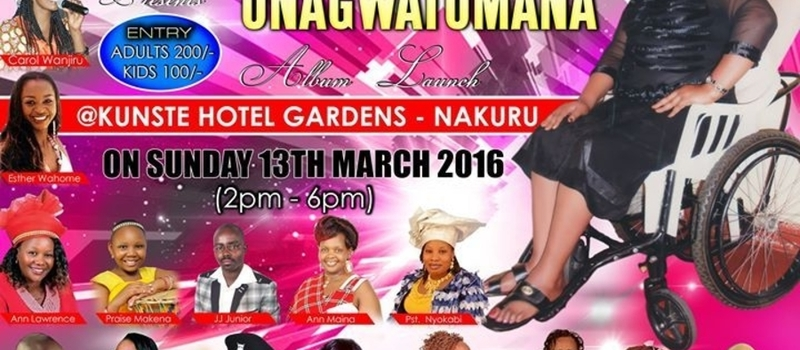 Anne Kariuki(Gikombe),Album Launch and Medical fundraiser in Nakuru