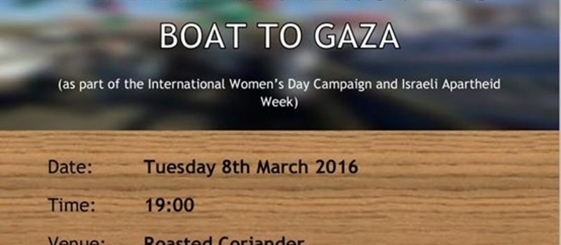 International Women's Boat to Gaza Launch: South Africa