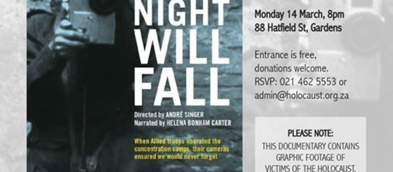 Night Will Fall' - South African premiere screening