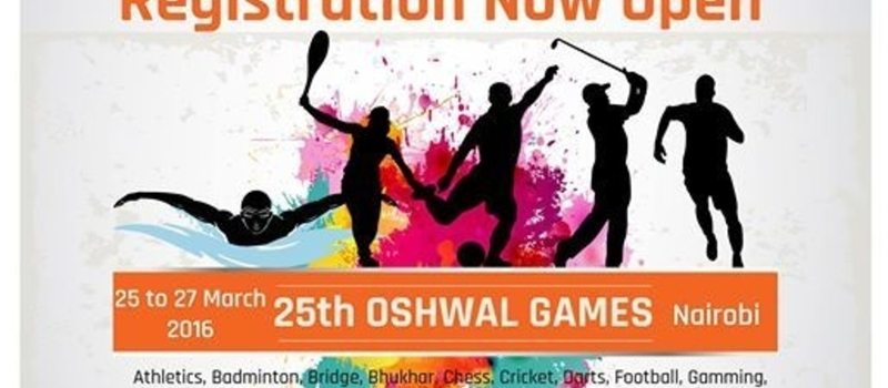 25th Oshwal Games