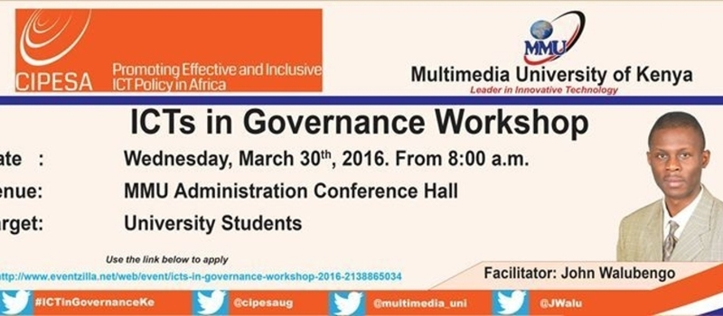 ICTs in Governance Workshop