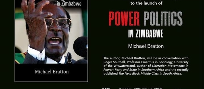 Launch of Power Politics in Zimbabwe by Michael Bratton